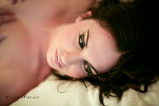 Makeup and Hair by Jennifer, Photography by Peekaboo Portland